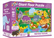 Alphabet Animals Giant Floor Puzzle | Merchandise