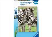 Zebra Love 300 Piece Puzzle | Merchandise