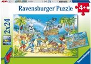 Adventure Island 2 X 24 Piece Puzzle | Merchandise