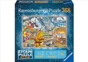 Amusement Park Plight Park 368 Piece Puzzle | Merchandise