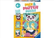 Animal Rock 3 X 24 Piece Puzzle | Merchandise
