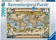 Around The World Puzzle 2000 Piece | Merchandise