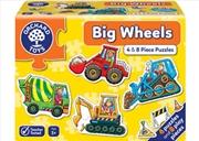 Big Wheels 4 x 8pc Puzzle | Merchandise