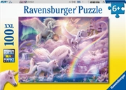 Pegasus Unicorns 100 Piece Puzzle | Merchandise