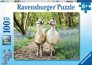 Llama Love 100 Piece Puzzle   Merchandise