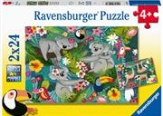 Koalas And Sloths Puzzle 2 X 24 Piece | Merchandise