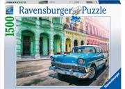 Cars Of Cuba Puzzle 1500 Piece | Merchandise