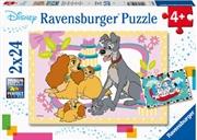 Disneys Favorite Puppies  2 X 24pc Puzzle | Merchandise
