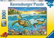 Swim With Sea Turtles 100 Piece Puzzle | Merchandise