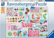 Sweet Temptation 500 Piece Puzzle | Merchandise