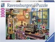 Sewing Shed Puzzle 1000 Piece Puzzle | Merchandise