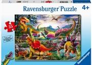 Trex Terror 35 Piece Puzzle | Merchandise