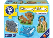 Mummy And Baby Puzzle 6 x 2pc | Merchandise
