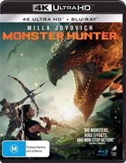 Monster Hunter | Blu-ray + UHD | UHD