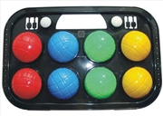 8 Piece Bocce Ball Set In Case | Toy