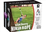 Ninja Climbing Rope 8' With Foot Holds | Toy