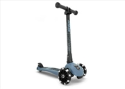 Scoot & Ride - Highwaykick 3 - LED Steel | Toy