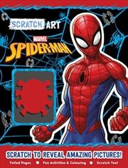 Spiderman - Scratch Art | Books