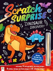 Scratch Surprise: Dinosaur Discovery (large format)   Books
