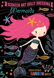 Scratch Art Dolly Dressing: Mermaids | Books