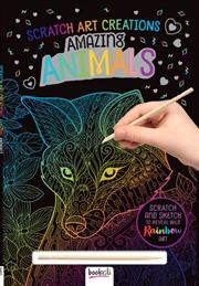 Scratch Art Creations: Amazing Animals | Books