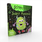 Scratch Art Fun Mini Scary Monsters | Books