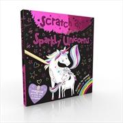 Scratch Art Fun Mini Sparkly Unicorns   Books