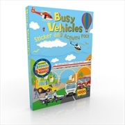 Sticker & Activity Pack Vehicles | Books