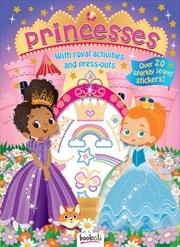 Puffy Sticker Jewel Princess   Books