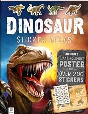 Dinosaurs Sticker Atlas (2018 Ed) | Books