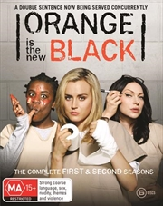 Orange Is The New Black - Season 1-2 | Boxset | Blu-ray