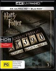 Harry Potter And The Prisoner Of Azkaban | Blu-ray + UHD - Year 3 | UHD