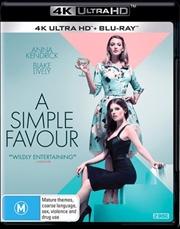 A Simple Favour | Blu-ray + UHD | UHD