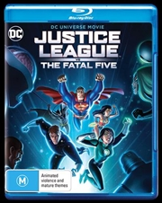 Justice League Vs The Fatal Five | Blu-ray