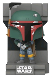 Star Wars - Boba Fett Metallic US Exclusive Pop! Deluxe Diorama [RS] | Pop Vinyl