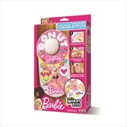 Cross Stitch Door Hanger - Barbie | Merchandise