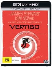 Vertigo | Blu-ray + UHD | UHD