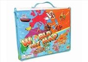 Giant World Felt Map | Toy