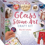 Glass Stone Art Craft Kit-This Complete Starter Kit includes all you need to create Unique Jewelry, | Merchandise