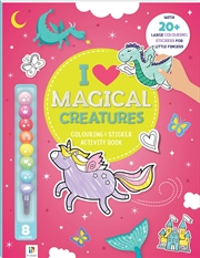 I Love Magical Creatures: Colouring & Activity Book | Colouring Book
