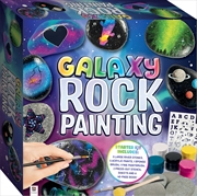 Galaxy Rock Painting | Merchandise