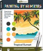 Painting by Numbers: Tropical Sunset | Merchandise