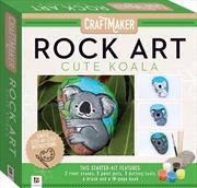 Craft Maker Rock Art Mini Kit - Cute Koala | Merchandise