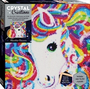 Crystal Creations Canvas - Rainbow Unicorn | Merchandise
