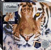 Crystal Creations Canvas - Regal Tiger | Merchandise