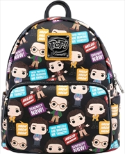 Seinfeld - Pop! & Quotes Mini Backpack | Apparel