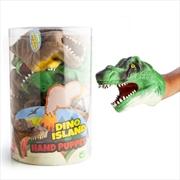Dino Island T-Rex Hand Puppet (Chosen At Random) | Toy