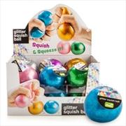Glitter Squish Ball | Toy