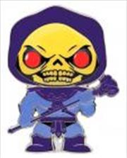 "Masters of the Universe - Skeletor with glow eyes 4"" Pop! Enamel Pin | Merchandise"