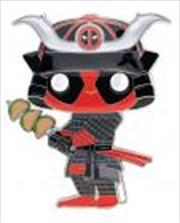 "Deadpool - Taco Samurai 4"" Pop! Enamel Pin | Merchandise"